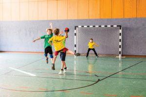 2. Platz bei der Stadtmeisterschaft im Handball