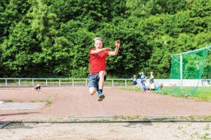Leichtathletik Kooperation mit Paul-Gerhardt Grundschule