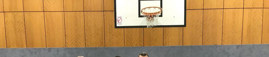 Basketball Freundschaftsspiel
