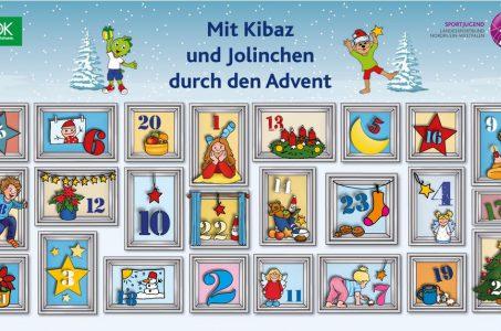 Adventskalender mit Kibaz und Jolinchen